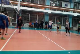 Волейбол 2020-2021. Матч ТНС - ВЗРМ. Фрагмент 1. Первая партия концовка