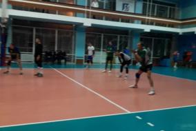 Волейбол 2020-2021. Матч ТНС - ВЗРМ. Фрагмент 2. Концовка центрального матча