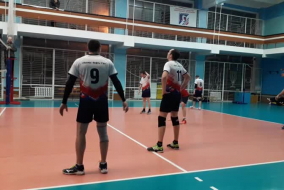 Волейбол 2020-2021. Матч ЭФКО - КОСМОС-НГ. Фрагмент
