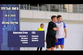 Третья лига 2020/21. Красная Этна - Автомобильный завод
