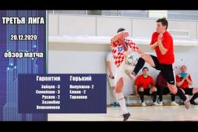 Третья лига 2020/21. Гарантия - МФК
