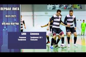 Первая лига 2020/21. Балахнинский мясокомбинат - Алмина 2:2
