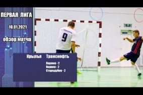 Первая лига 2020/21. Крылья - Транснефть 0:6