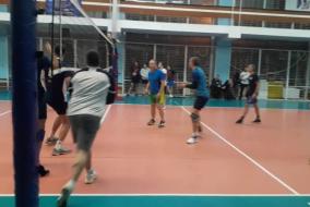 Волейбол 2020-2021. Матч ПРОКУРАТУРА - ВАСО. Фрагмент 1 Первый сет вырывает прокуратура