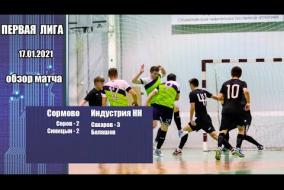 Первая лига 2020/21. Сормово - МФК