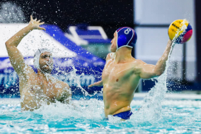MENS WATER POLO OLYMPIC GAMES QUALIFICATION TOURNAMENT 2020. 2 DAY.