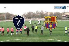 Видео обзор 25-го тура. SANTOS vs NEDVIJIMOST'