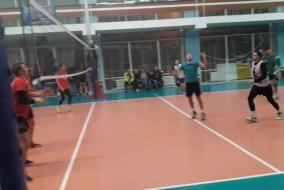 Волейбол 2020-2021. Матч ВЗРМ - ТОП-ГЕН. Фрагмент с получением травмы