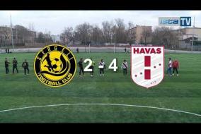 Видео обзор 26-го тура SERGELI vs HAVAS 2:4