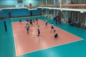Волейбол 2020-2021. Матч ВЗРМ - ЭФКО. 1-я партия