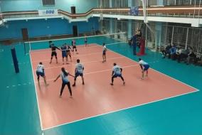 Волейбол 2020-2021. Матч ВЗРМ - ЭФКО. 3-я партия