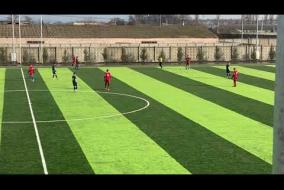 Видеозапись матча зимнего первенства Одесской области «Хаджибей» - «Юнга»