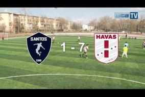 Видео обзор 28-го тура. SANTOS vs HAVAS