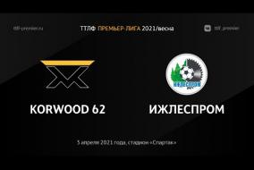 03.04.2021. Korwood 62 - Ижлеспром - 5:1