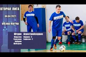 Вторая лига 2020/21. Штурм - Агростройсервис 4:6
