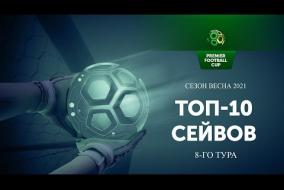 Лучшие cейвы 8-го игрового дня Регулярного Чемпионата PFC