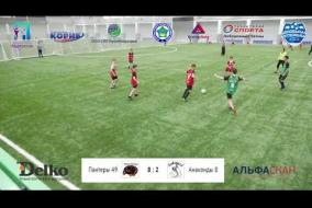 Школьная Футбольная Лига. Полный матч: Быки 33 - Дельфины 84