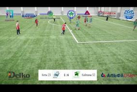 Школьная Футбольная Лига. Обзор матча: Киты 23 - Кайманы 52