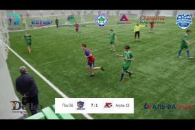 Школьная Футбольная. Лига  Полный матч: Псы 56- Акулы 10