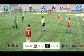 Школьная Футбольная Лига. Полный матч: Зебры 34 - Кенгуру 30