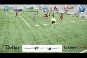 Школьная Футбольная Лига. Обзор матча: Мангусты 20 - Стрижи 37