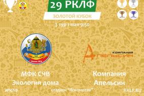 29 РКЛФ Золотой Кубок МФК СЧВ Экология дома - Компания Апельсин 1:7