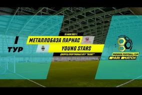 Металлобаза Парнас 2:4 Young Stars