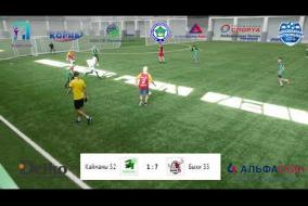 Школьная Футбольная Лига. Полный матч: Стрижи 37 - Зубры 35