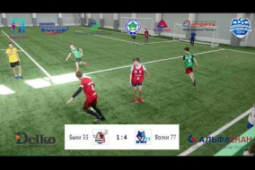 Школьная Футбольная Лига. Обзор матча: Быки 33 - Волки 77