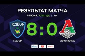КСШОР - Локомотив   ОБЗОР   ЮФЛ ДВ 2-й тур