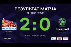 СШ-1 Котлас – СШ Электрон. Обзор матча   4 тур   ЮФЛ СЗ