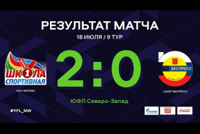 СШ-1 Котлас – СШОР Экспресс. Обзор матча | 9 тур | ЮФЛ СЗ