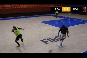 FC Falcons 13 - 5 FC Barcelona B DIVISION, Tour 11