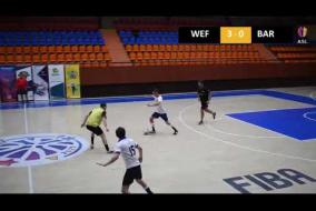 Webb Fontaine 8 : 0 FC Barcelona B DIVISION Tour 12