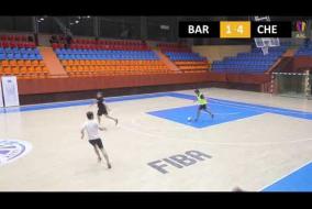 FC Barcelona 5 : 11 FC Chelsea B DIVISION Tour 13