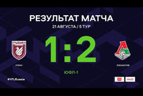 ЮФЛ-1. Рубин - Локомотив. 5-й тур. Обзор