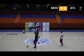 Movistar Futsal Club Yerevan 4 : 14 Atlético Madrid A DIVISION Tour 10