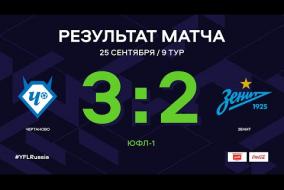 ЮФЛ-1. Чертаново - Зенит. 9-й тур. Обзор