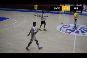 Movistar Futsal Club Yerevan 6  v 15 Arsenal F C A DIVISION Tour 11