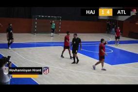 FC Nor Hachn 5 v 9 Atlético Madrid A DIVISION 12 Tour