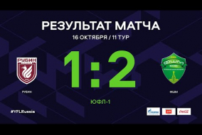 ЮФЛ-1. Рубин (Казань) - ФШМ. 11-й тур. Обзор